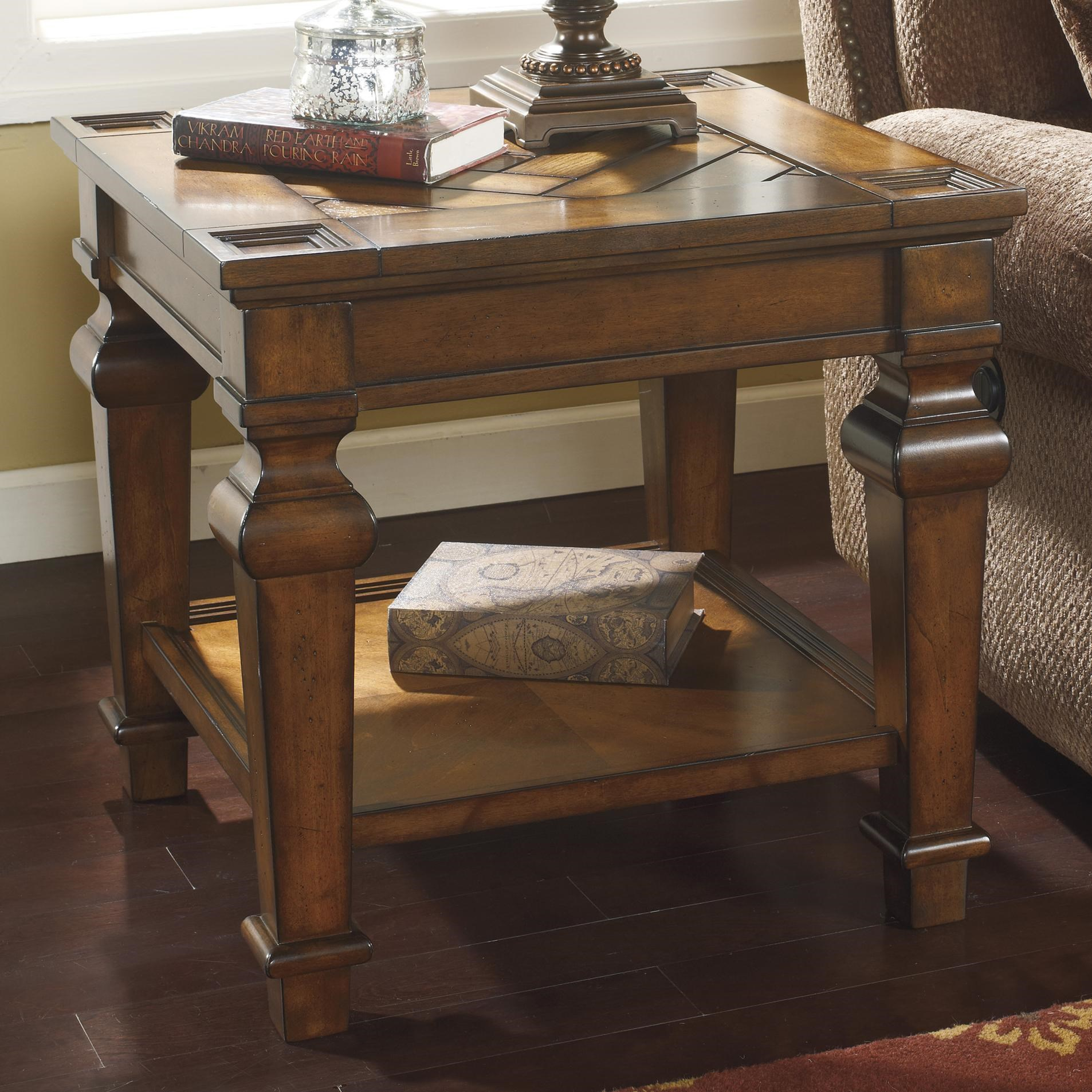Signature Design by Ashley Leedshore Square End Table