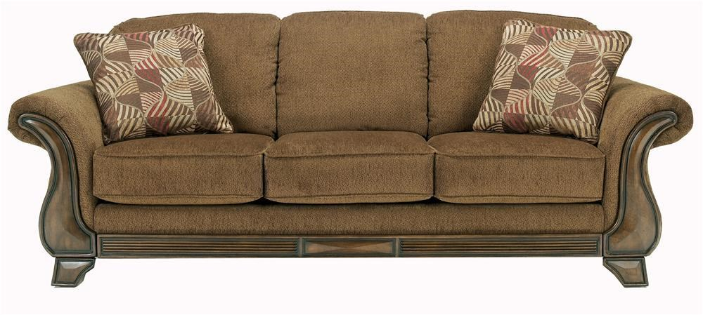 Signature Design by Ashley Montgomery Mocha Sofa with