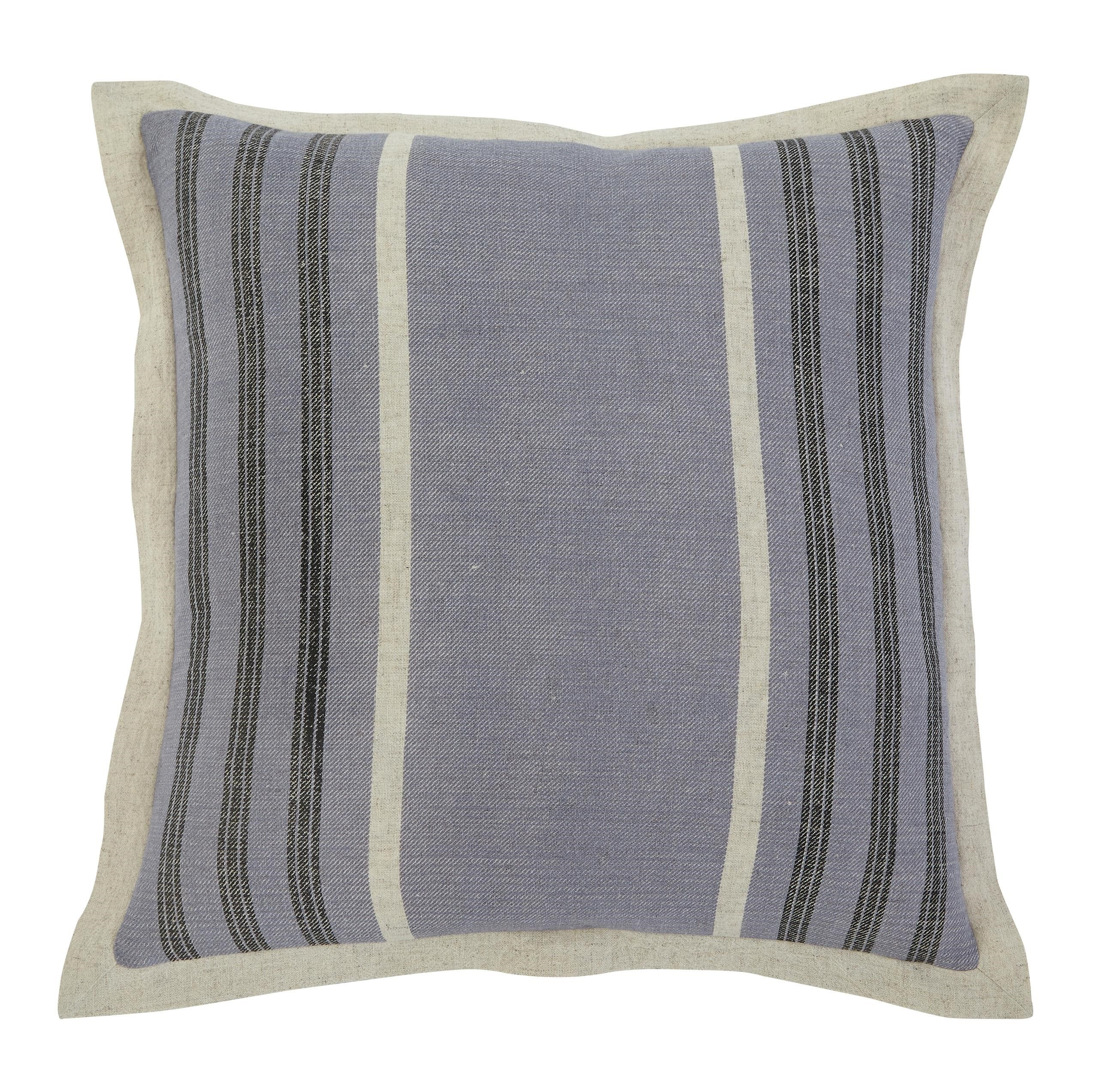 Signature Design by Ashley Pillows Striped Blue Beck s