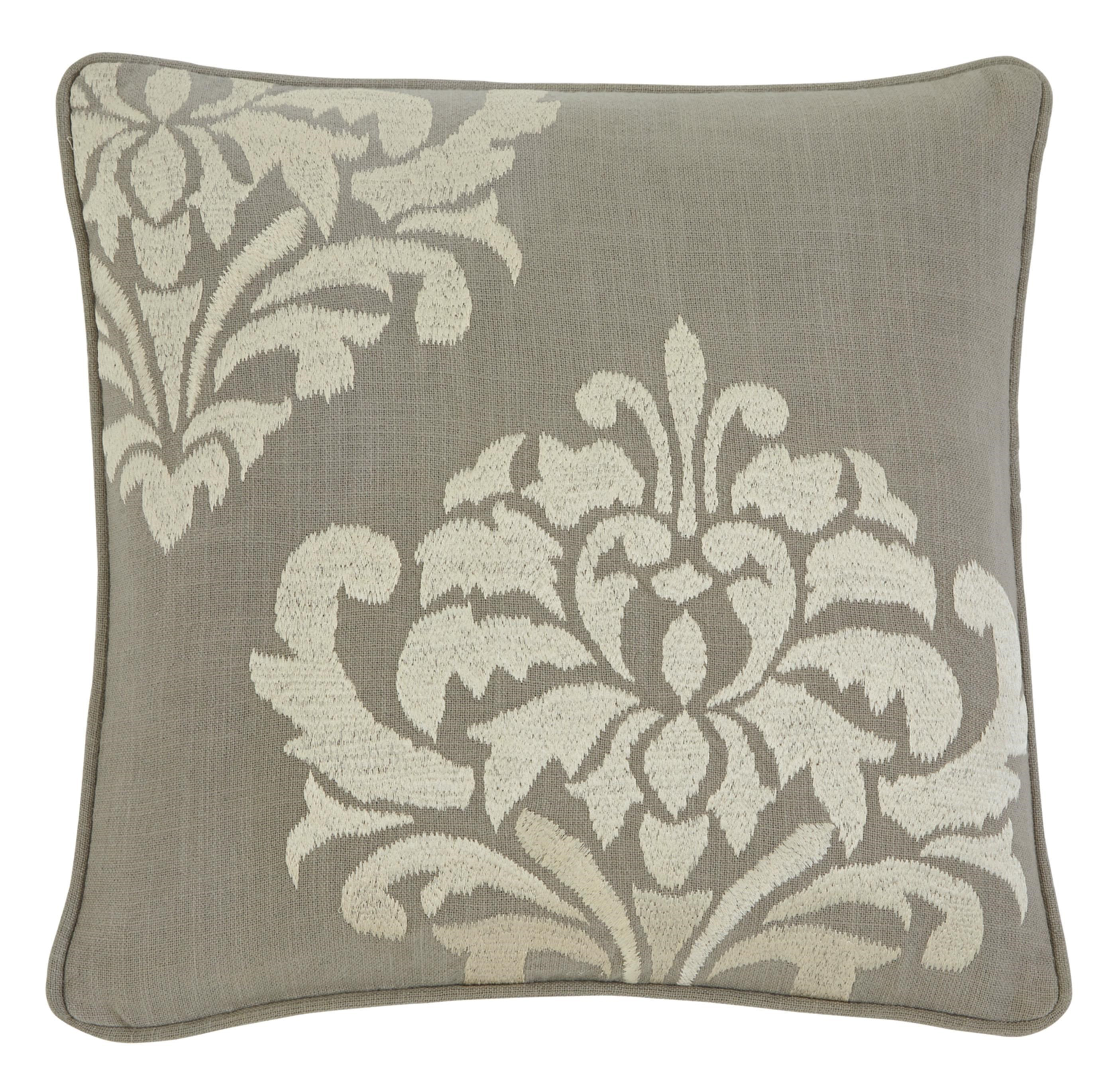 Signature Design by Ashley Furniture Pillows Damask Gray