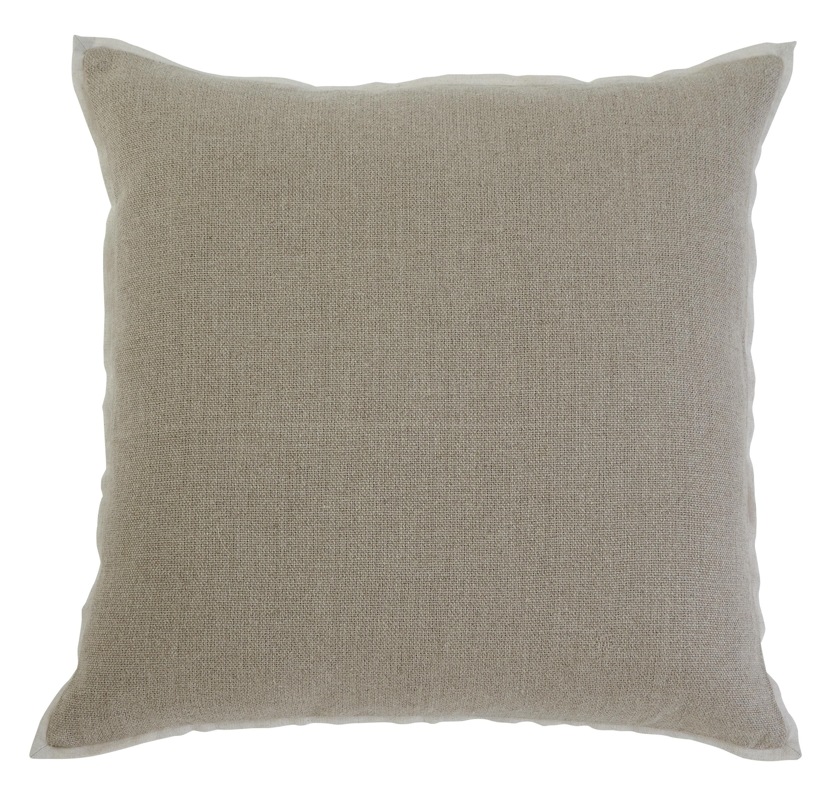 Signature Design by Ashley Furniture Pillows Solid Khaki