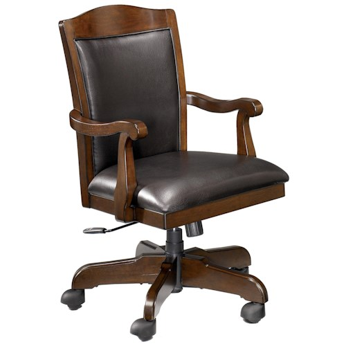 office chair with casters rta regency furniture executive desk