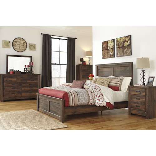 Signature Design By Ashley Quinden Queen Bedroom Group Wayside Furniture