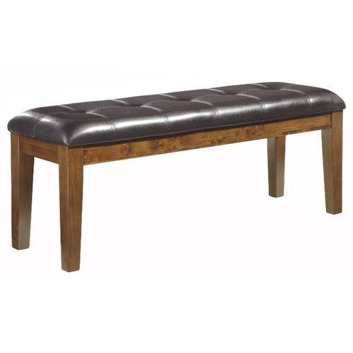 Signature Design By Ashley Ralene Large Uph Dining Room Bench Royal Furniture Dining Benches