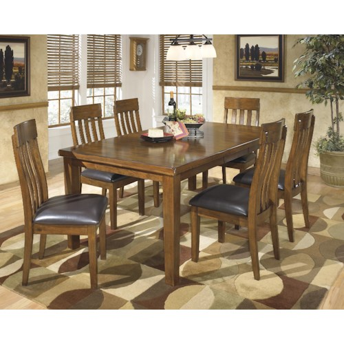 Signature Design By Ashley Ralene 7 Pc Dining Set Royal Furniture Dining 7 Or More Piece