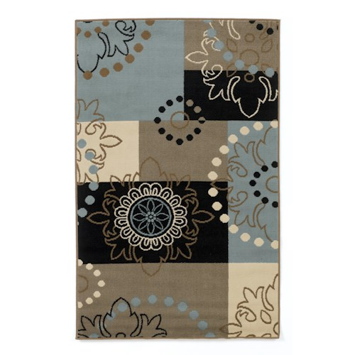 Signature Design By Ashley Contemporary Area Rugs Vito Multi Rug Beck 39 S Furniture Rugs