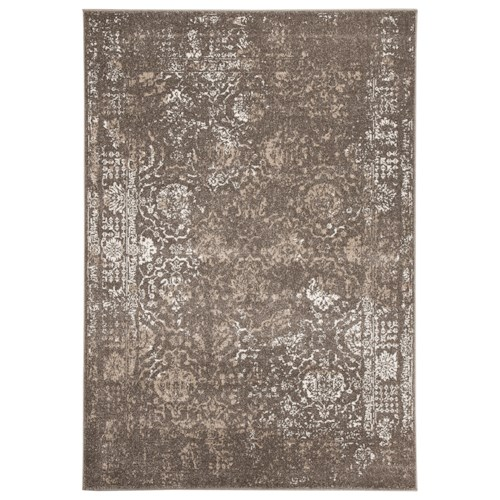Signature Design By Ashley Transitional Area Rugs Patras Brown Medium Rug Rotmans Rugs