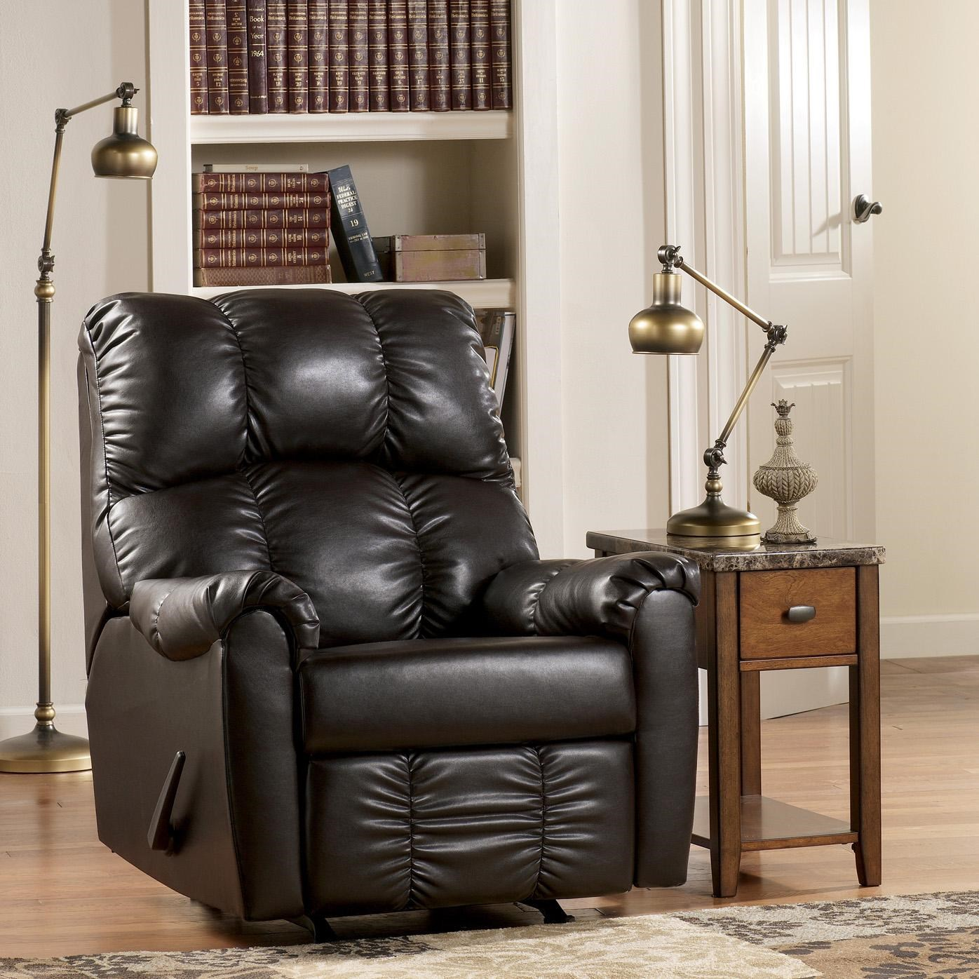 Signature Design by Ashley Rutledge Java Rocker Recliner