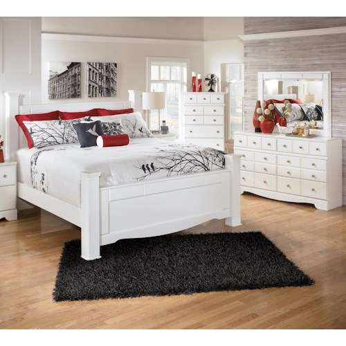 Signature Design By Ashley Weeki 3 Piece King Bedroom Group Del Sol Furniture Bedroom Group