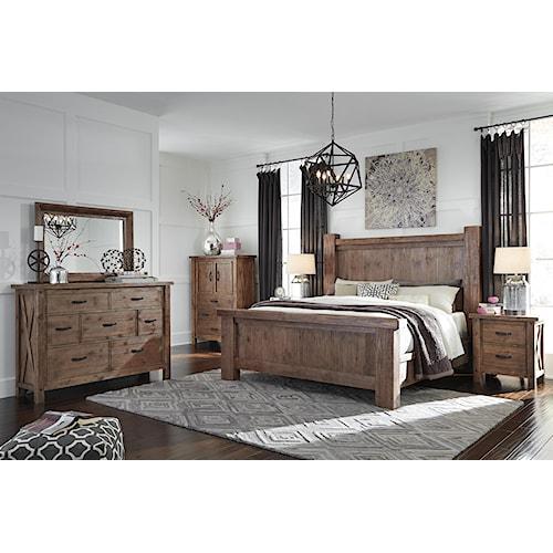 Signature Design By Ashley Tamilo King Bedroom Group Standard Furniture Bedroom Group