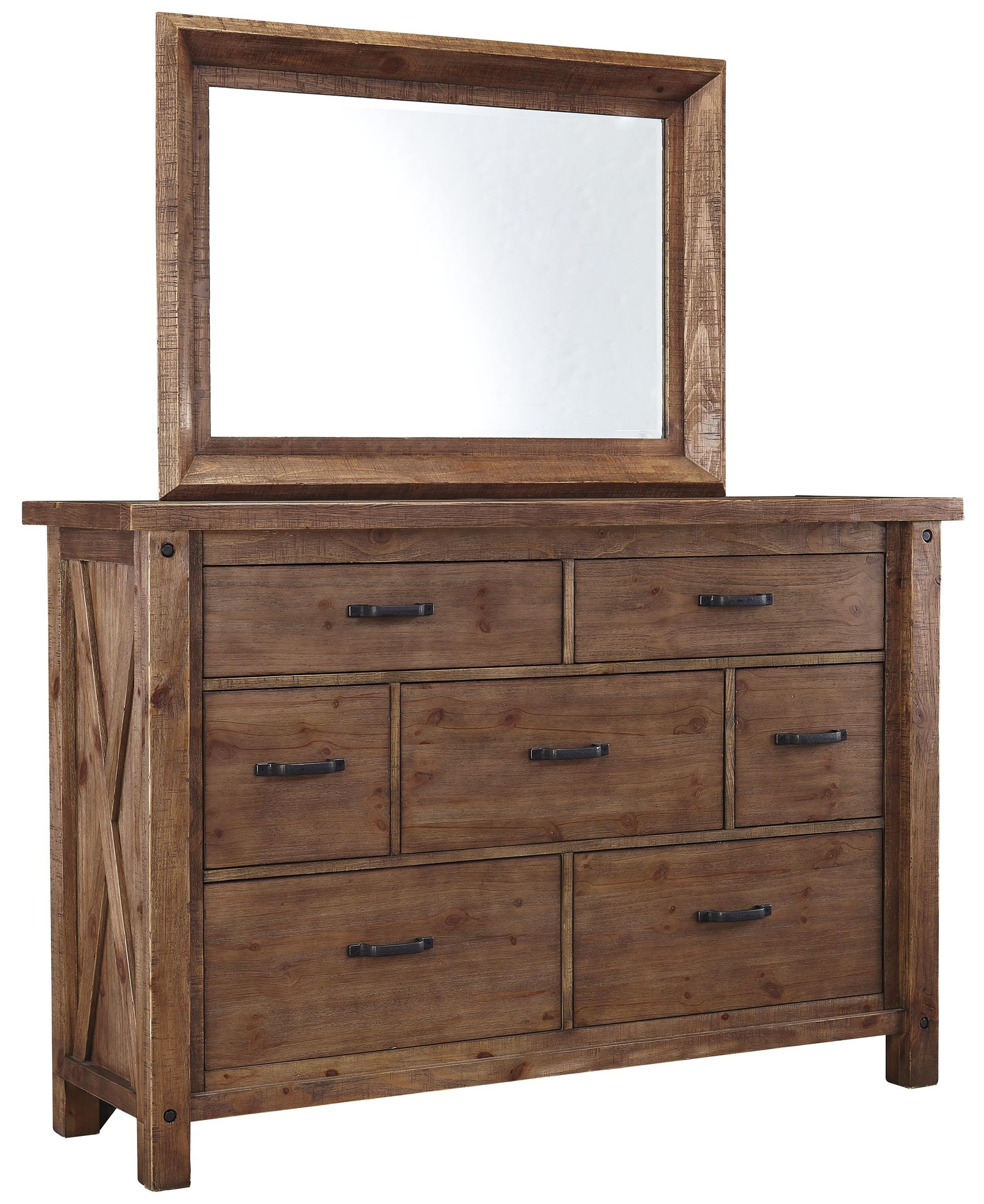 Signature Design by Ashley Tamilo 7 Drawer Dresser and