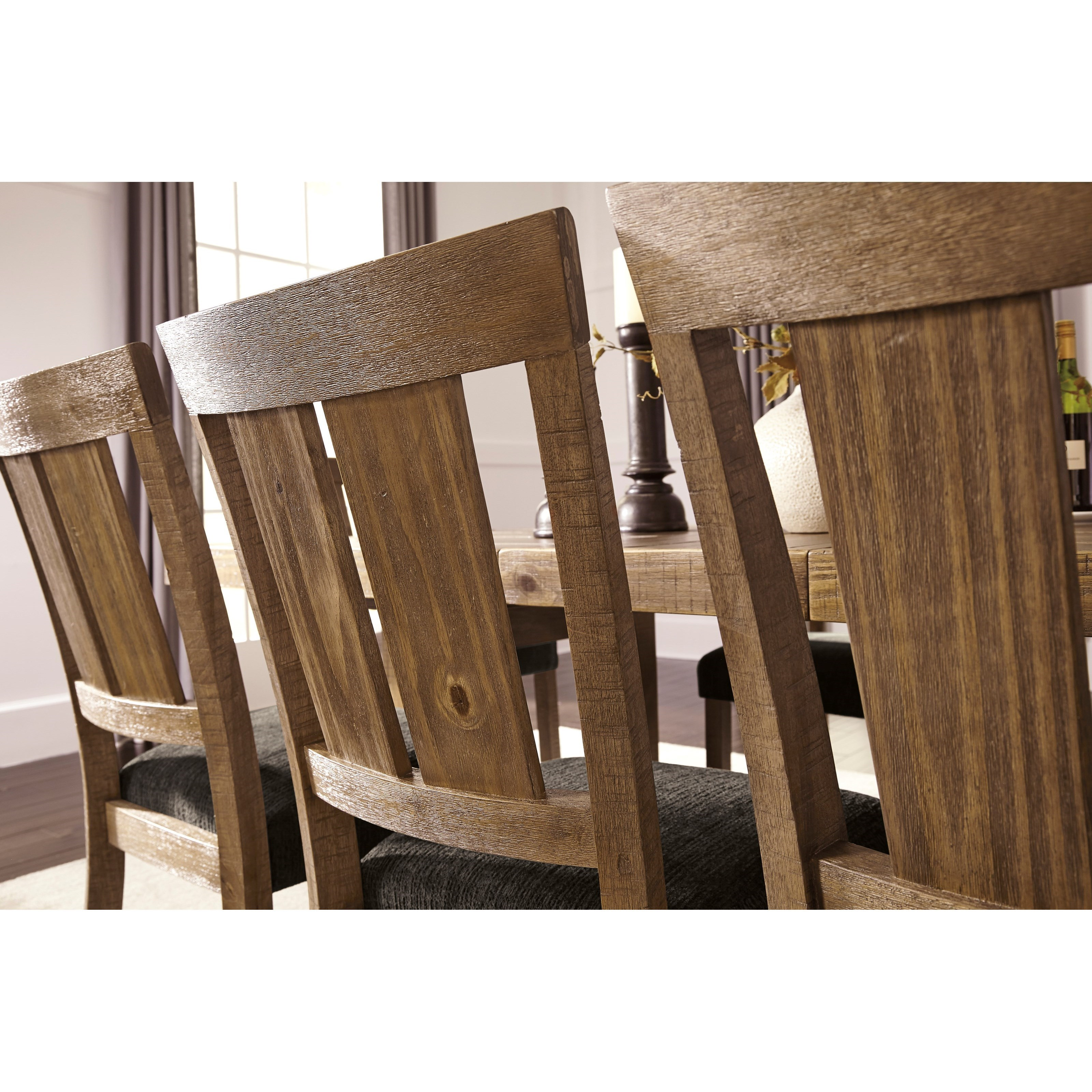 Signature Design by Ashley Tamilo 7 Piece Table & Chair