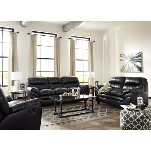Signature design by ashley tassler durablend stationary for Durable living room furniture