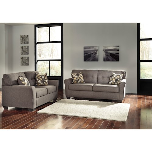 Signature Design By Ashley Tibbee Stationary Living Room Group Value City Furniture