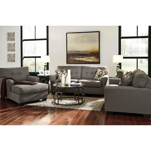 Signature Design By Ashley Tibbee Stationary Living Room