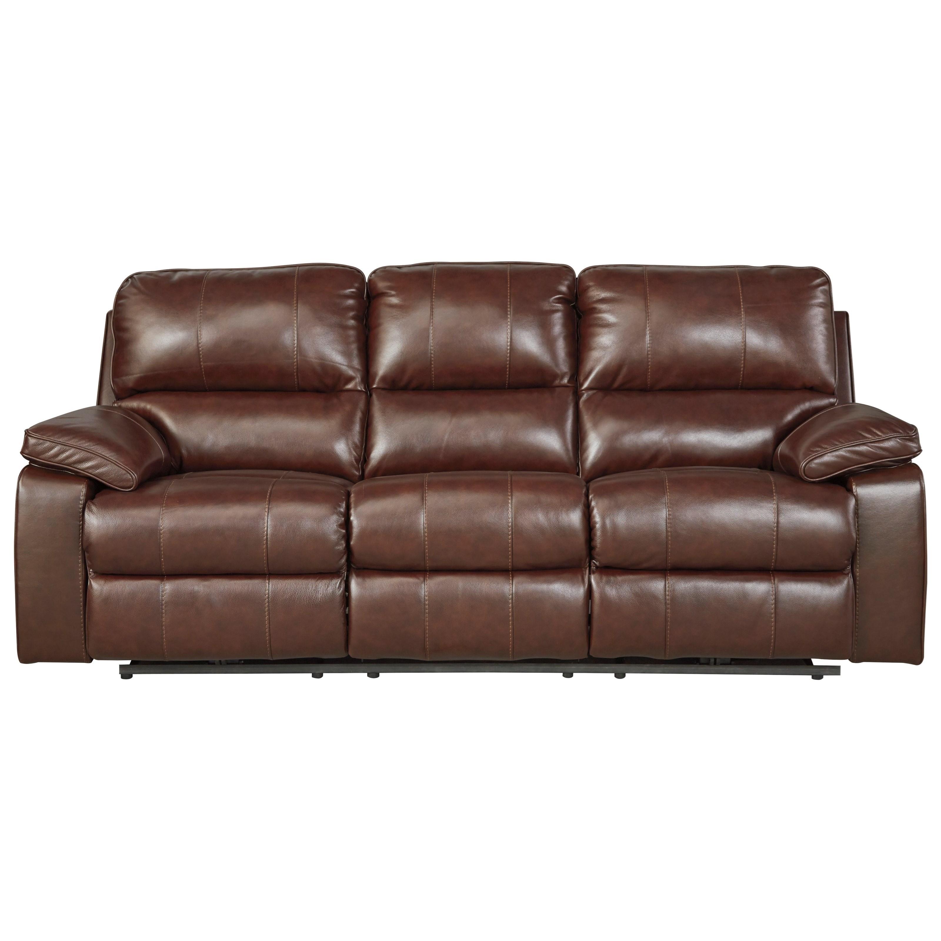 Sofa W/ Adjustable Headrest | Del Sol Furniture | Reclining Sofa .
