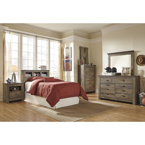 Signature Design By Ashley Trinell Twin Bedroom Group Furniture And Appliancemart Bedroom