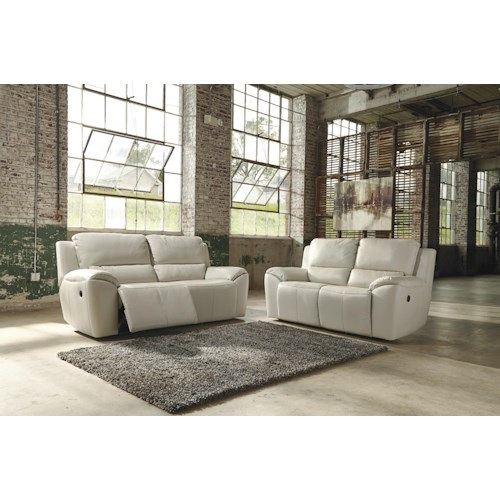 Signature Design By Ashley Valeton Reclining Living Room Group Zak 39 S Fine Furniture