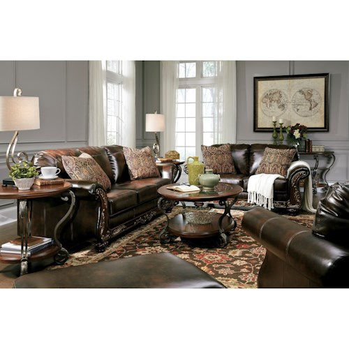 Signature Design By Ashley Furniture Vanceton Stationary Living Room Group