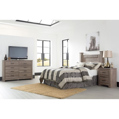 Signature Design By Ashley Waldrew Queen Bedroom Group Value City Furniture