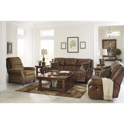 Signature Design By Ashley Walworth Reclining Living Room Group Del Sol Furniture Reclining