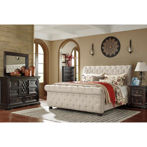 Signature Design By Ashley Willenburg Queen Bedroom Group Del Sol Furniture