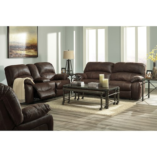 Signature Design By Ashley Zavier Reclining Living Room Group Beck 39 S Furniture Reclining