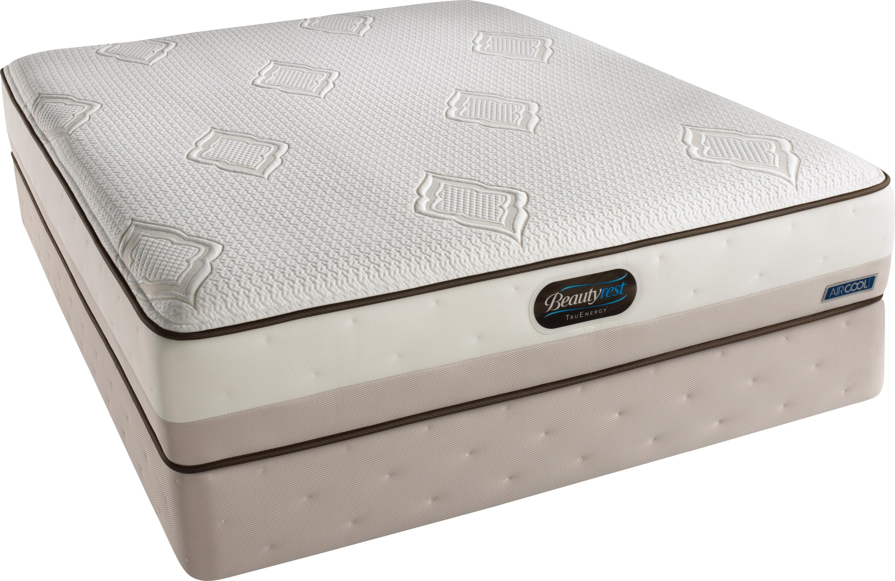 Simmons Beautyrest TruEnergy Blaine Queen Plush Firm