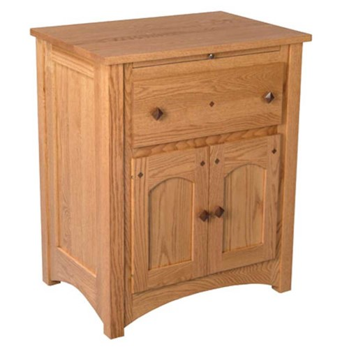 Simply Amish Royal Mission Royal Mission Deluxe Nightstand Becker Furniture