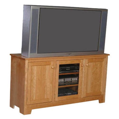 Simply Amish Classic Classic Tv Stand Dunk Bright