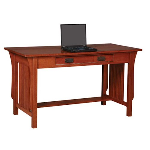 Simply Amish Prairie Mission Prairie Mission Small Desk Becker Furniture World Table Desk