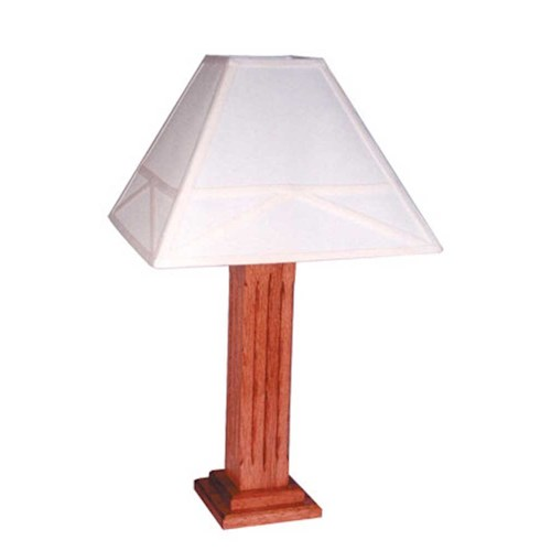 Simply Amish Mission Amish Mission Lamp With Shade Becker Furniture World Table Lamp Twin