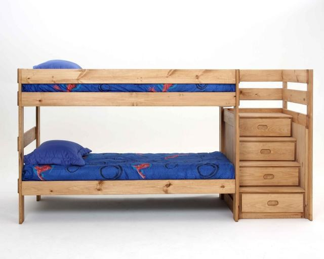 Simply Bunk Beds Simply Bunkbeds Stairstep Twin Twin