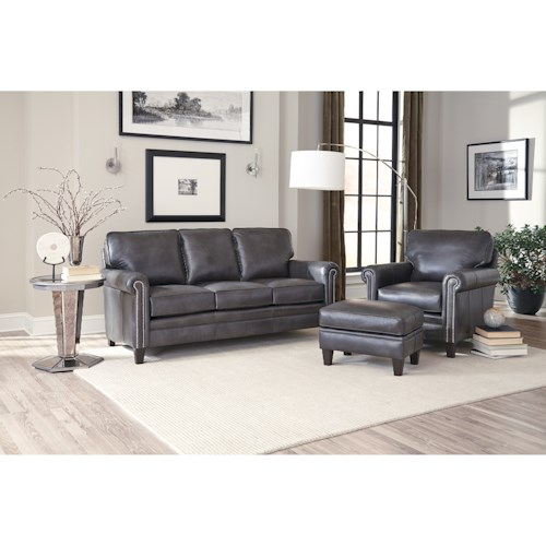 Smith Brothers 234 Stationary Living Room Group Wayside Furniture Station