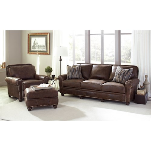 Smith Brothers 237 Stationary Living Room Group Wayside