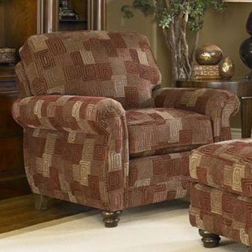 Smith Brothers 302 Upholstered Chair Wayside Furniture