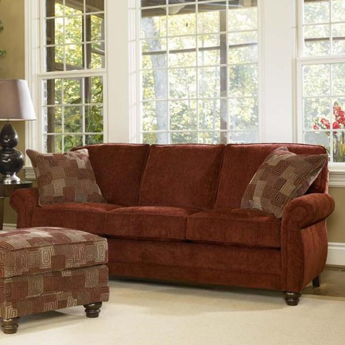 Smith Brothers 302 Traditional Sofa Wayside Furniture