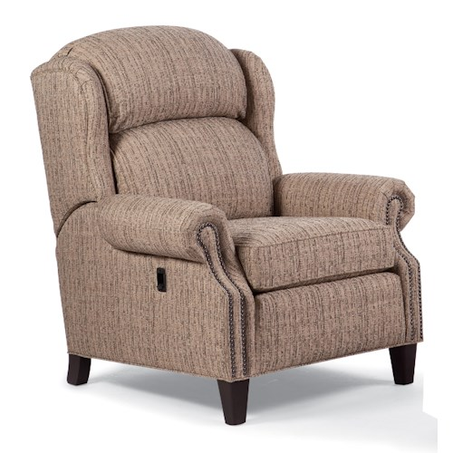 Smith Brothers Recliners Traditional Motorized Reclining