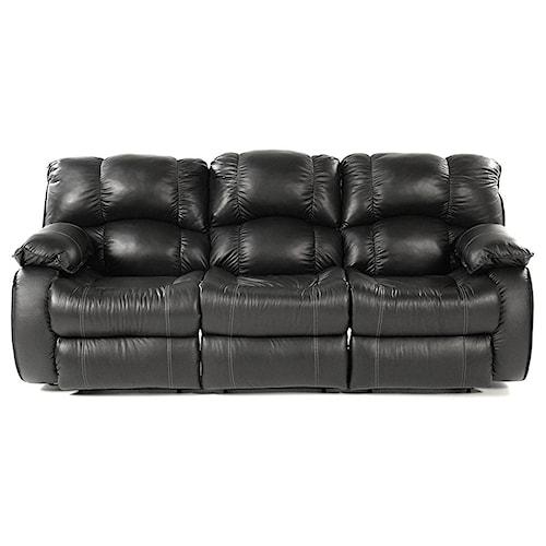 reclining sofa design to recline milano triple reclining leather sofa