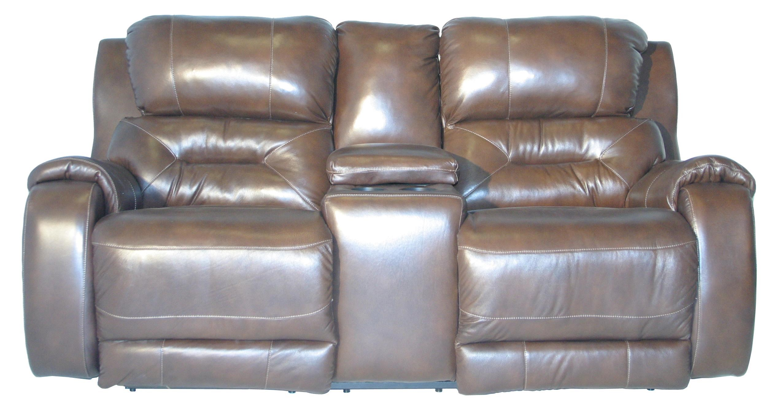 Southern Motion Sting Double Reclining Console Sofa J