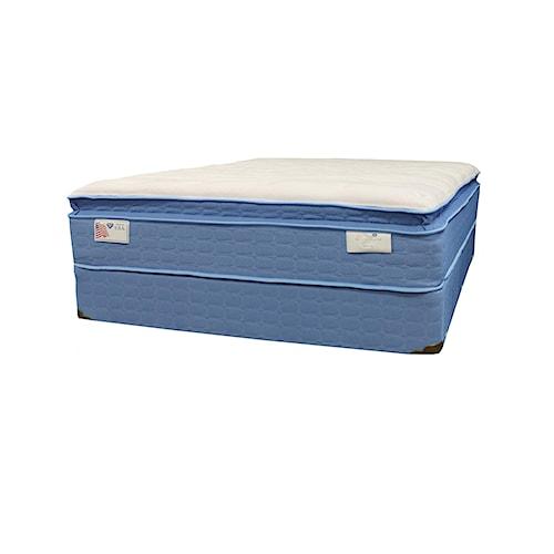 Spring air spring o pedic sweet dreams full euro top for Spring air mattress