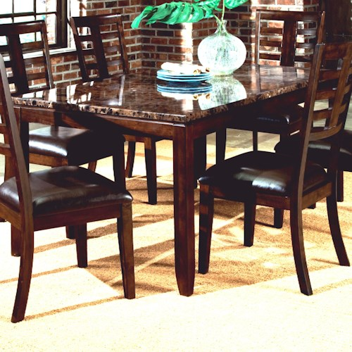 Standard Furniture Bella Rectangular Dining Table With
