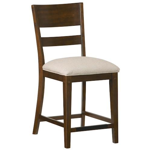 Standard furniture cameron rustic upholstered counter height stool dunk bright furniture - Standard height for bar stools ...