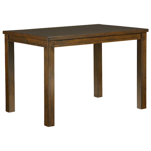 Counter Height Rustic Dining Table : ... Furniture Pub Tables Standard Furniture Cameron Counter Height Table