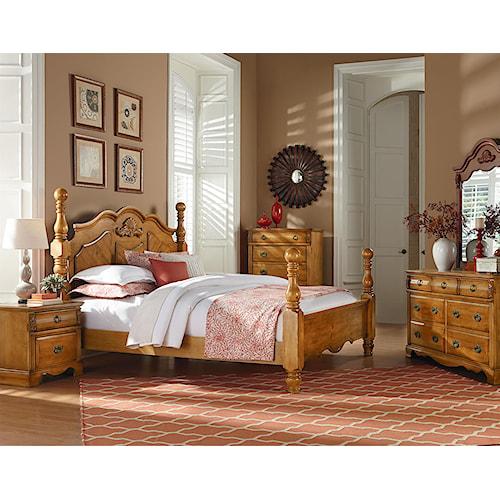 Standard furniture georgetown king bedroom group standard furniture bedroom group birmingham for Bedroom furniture huntsville al