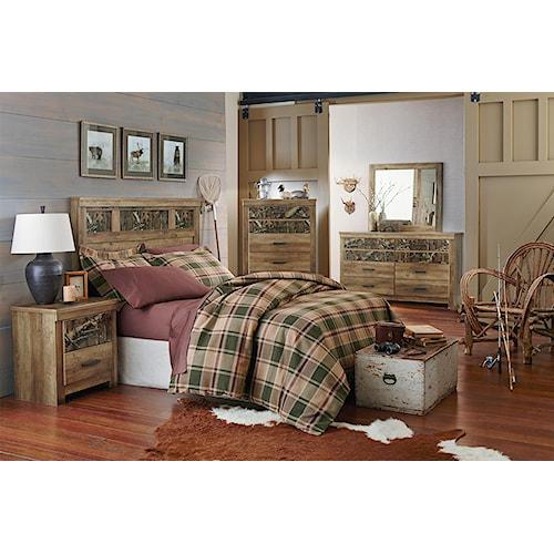 Standard Furniture Habitat Full Queen Bedroom Group Standard Furniture Bedroom Group