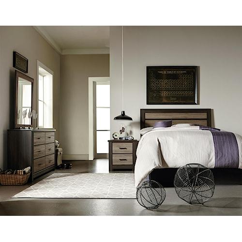 Standard Furniture Oakland Full Bedroom Group Standard Furniture Bedroom Groups Birmingham
