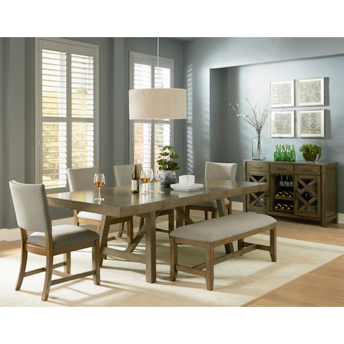 casual dining room group standard furniture casual dining room