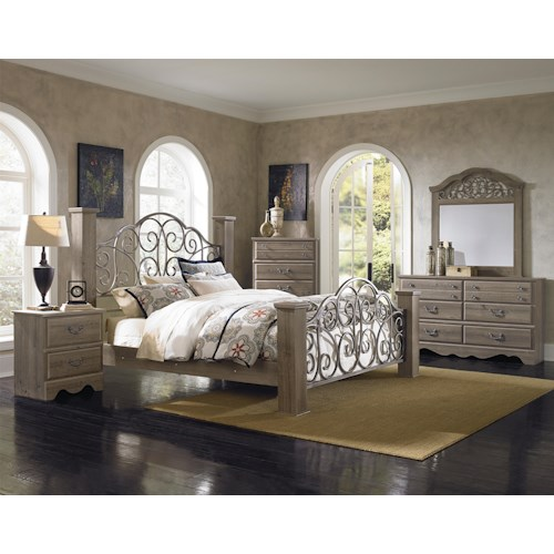 Standard Furniture Timber Creek King Bedroom Group Standard Furniture Bedroom Group
