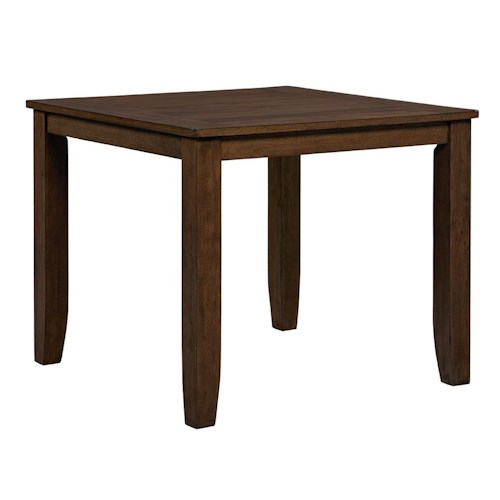 Standard furniture vintage vintage counter height dining for Standard dining room table height